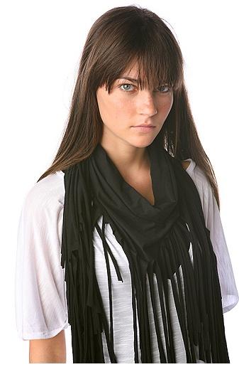 urban fringe scarf