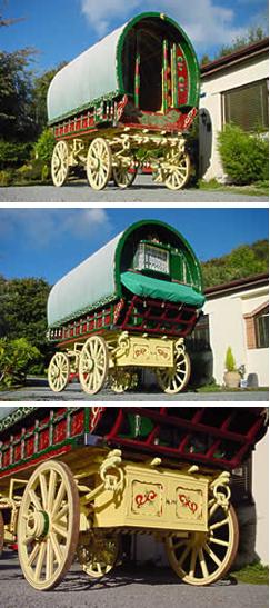 gypsy, caravan, wagons, vardo