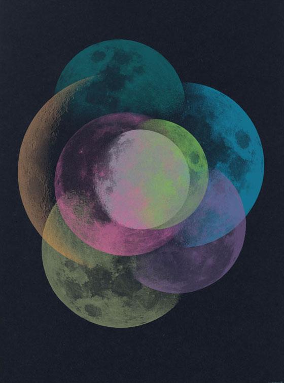 christopher david ryan, moons, theloksee, art