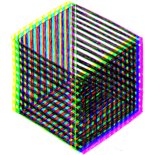 pascal tessier, art, cube,  thelooksee