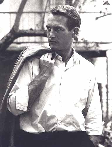 paul newman, theloooksee