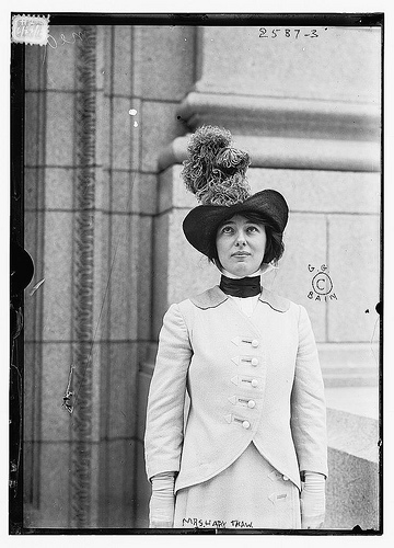 mrs harry k thaw, evelyn nesbit, library of congress, vintage photo, the looksee