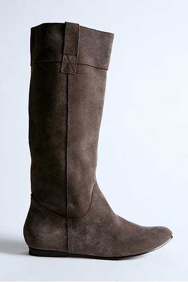 urban outfitters, boots, uniform suede boot, fashion, thelooksee