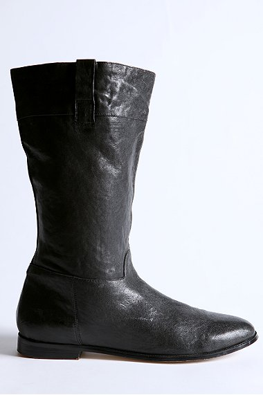 equestrian, black, boots, leather, flat, thelooksee