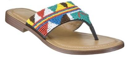 target, trista, beaded sandals, flip flops, the looksee, vegan