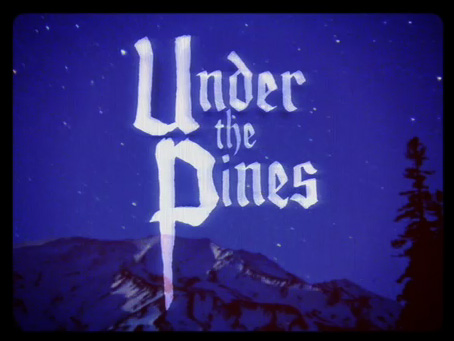 bodies of water, under the pines, video, music, thelooksee