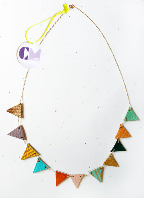 collette, selby, scout holiday, flags in color, necklace, thelooksee