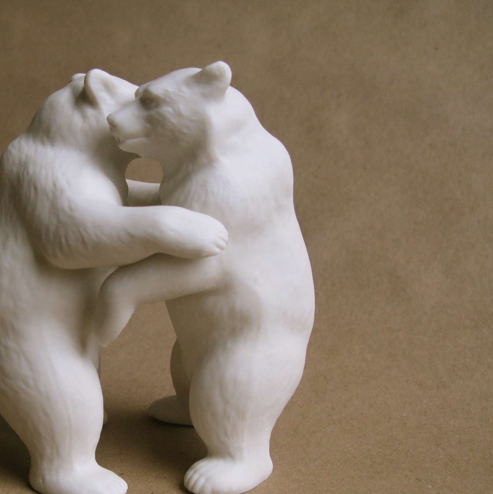 katherine grandey, porcelain, bears in love, objet d'art, the look see
