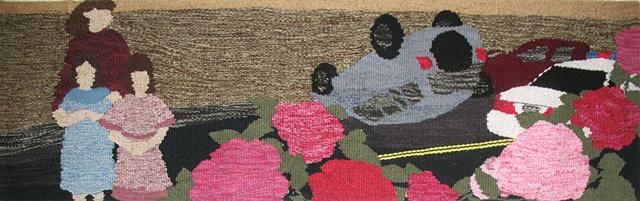 erin m. riley, woven, weaving, tapestry, modern, contemporary, student, art, etsy, thelooksee