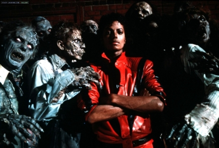 michael jackson, thriller, 80s, thelooksee