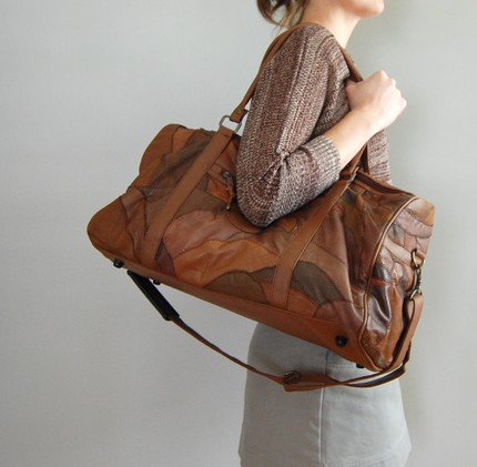 deargoldenvintage, etsy, patchwork bag, travel, vintage, bag, thelooksee