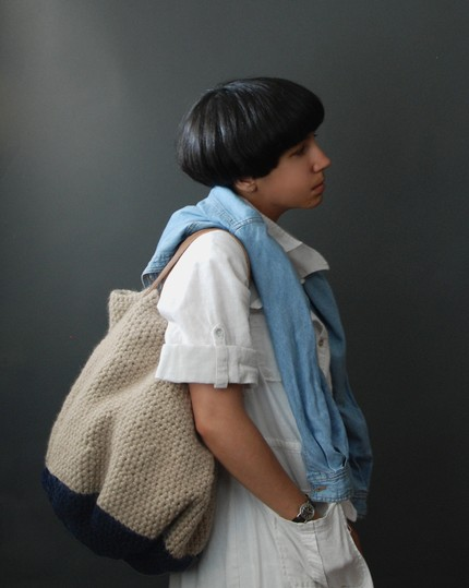 yokoo, etsy, knits, bag, purse, fashion, accessories, custom, thelooksee