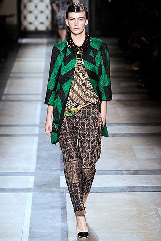 dries van noten, spring 2010, fashion, ready-to-wear, pret-a-porter, thelooksee, fashion