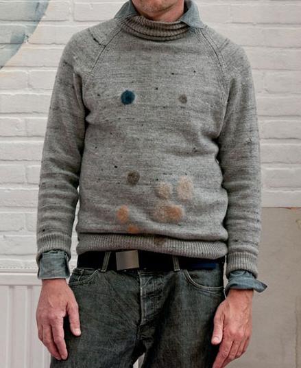 wolplamuur, felt, cardigan, wool, patch, heleen klopper, thelooksee