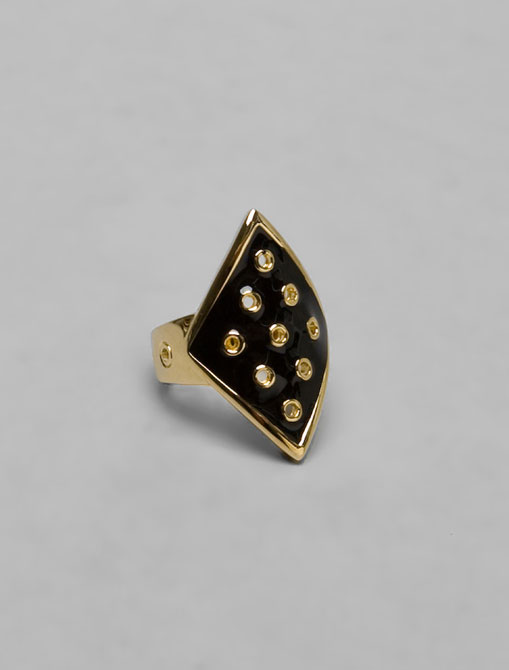 house of harlow, ring, enamel, jewelry, the look see