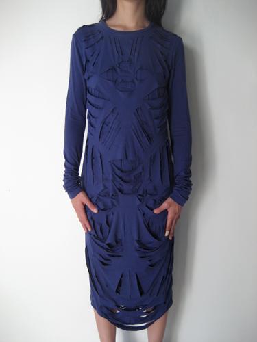 anne sophie back, slashed, dress, design, fashion, thelooksee