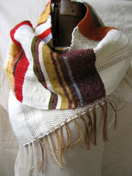 pidge pidge, scarf, handmade, etsy, loomed, thelooksee