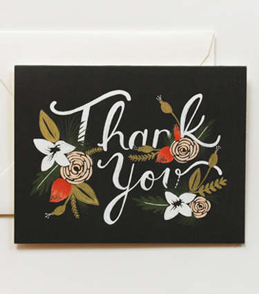 rifle paper company, stationary, floral, print, thelooksee
