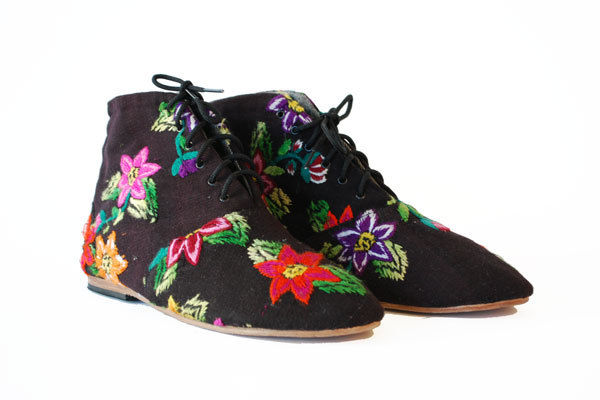 osborn design  studio, shoes, recycled, fabric, ecofriendly, green, sustainable,  socially conscious, thelooksee