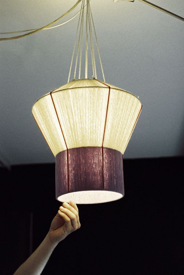 ana kras, lamps, lampshades, craft, art, design, thelooksee