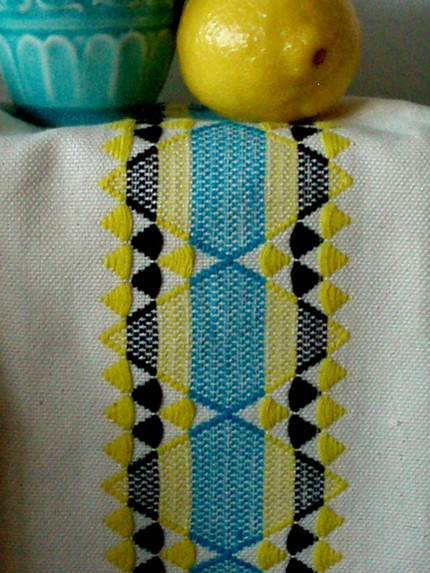 milka loom, chamilka, woven, australia, dishtowel, craft, thelooksee