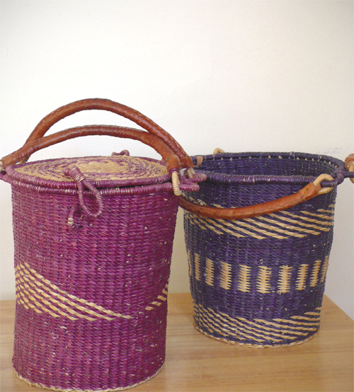 ® thelooksee, thrift, basket, woven, vintage