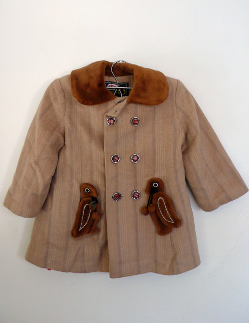 coat, childrens, bird, found, vintage, thelooksee, etsy