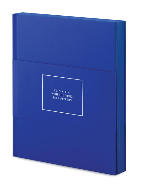 yves klein: with the void full powers, book, walker art center, thelooksee