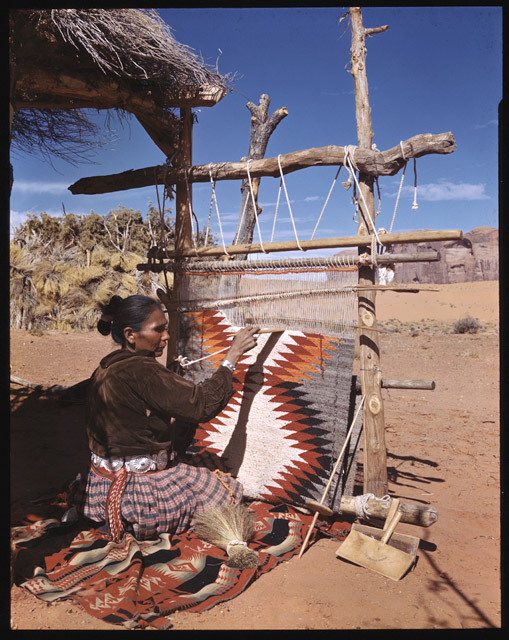 cline library, navajo, weaving, archive, history, photography, thelooksee
