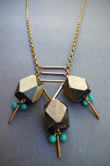 the looksee,  the look see, jewelry, geometric, vintage beads, fashion