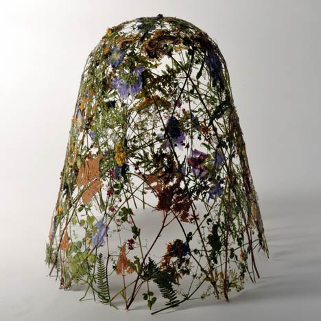 fragility of time, ignacio canales, aracil, flowers, pressed, sculpture, thelooksee
