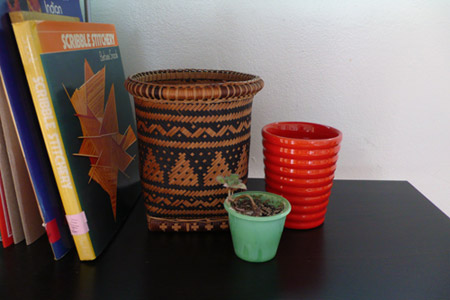 basket, bauer, pottery, ceramics, los angeles, the look see