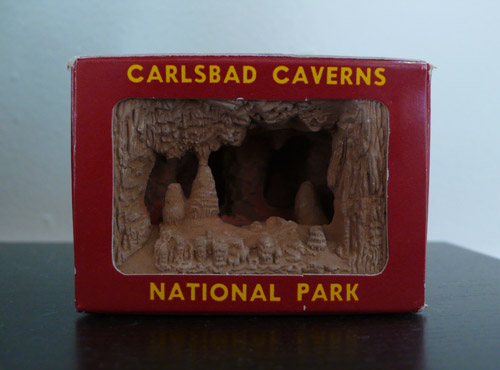 carlsbad caverns, souvenir, ©the look see, photos, vintage
