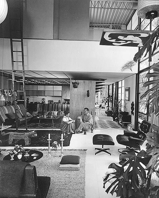 eames, living room, charles, ray, modernism, california