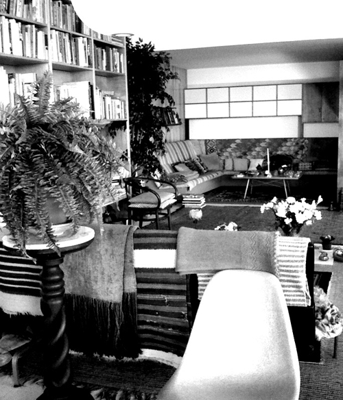 eames, living room, charles, ray, modernism, california, LACMA, pacific standard time