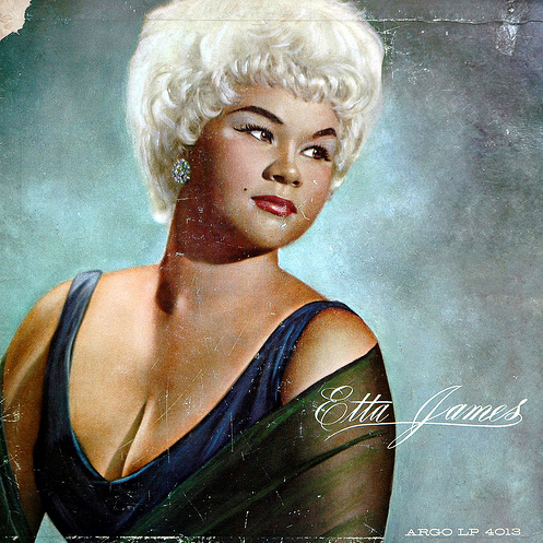 etta james, album cover, in memorium, the look see