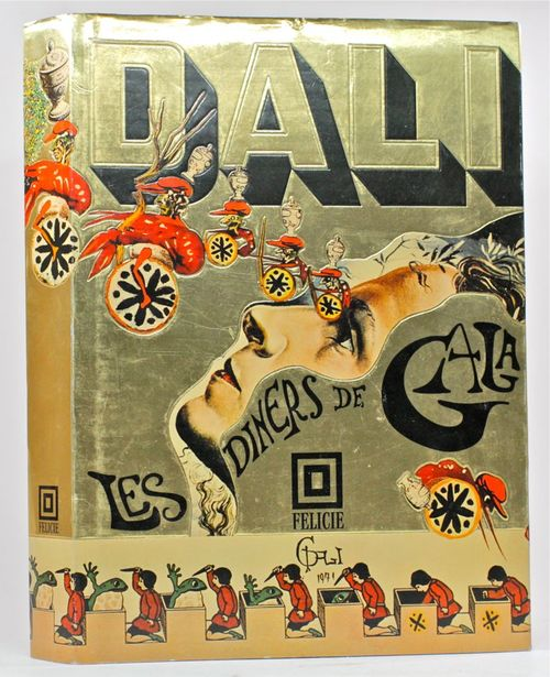 salvador dali, cookbook, surrealist, art,