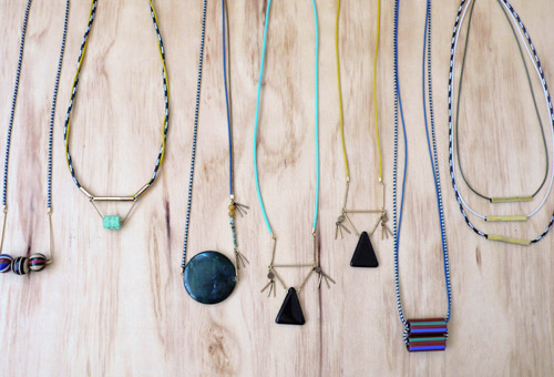 jewelry, the look see, etsy, handmade, glass, metals, cord,  leather, vintage, los angeles, looksee