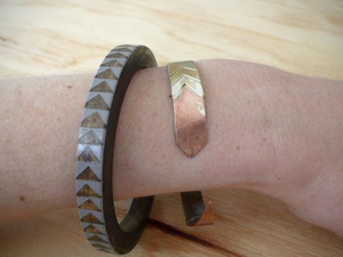 bangle, snake, cuff, handmade