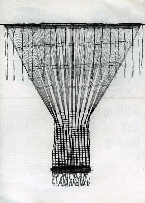 lenore tawney, inspiration, design, fiber, textile